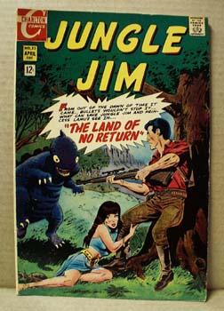 Charlton Comics Jungle Jim , Vol 2, no23