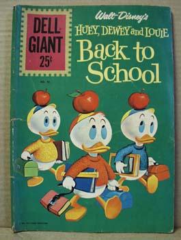 Dell 1961 Huey, Dewey and Louie back to school comic
