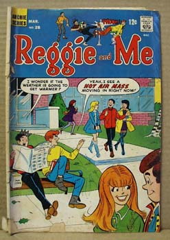 Archie Series Comic Reggie and Me, March no 28, 1968.