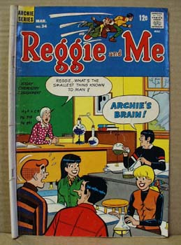 Archie Series Comic Reggie and Me, March no 34, 1969.