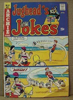 Archie Series Comic Jughead Jokes #41 , October, 1974