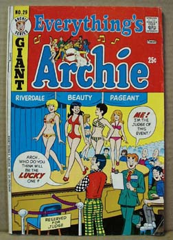 Archie Series Comic Everythings Archie Giant Series 29, October 1973