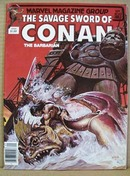 1982 Conan the Barbarian Magazine,