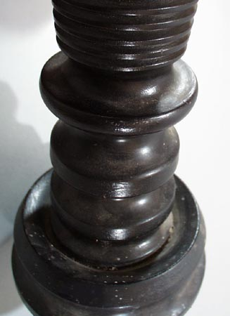 Turned Candle Stand for floor, 1920 era.
