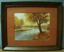1988 Autumn Water color by Donna Jean Kosinski