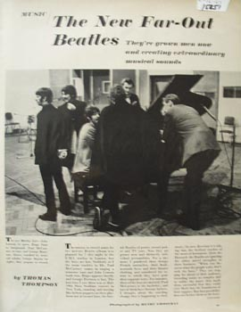 Beatles, The New Far Out Article & Pictures 1967