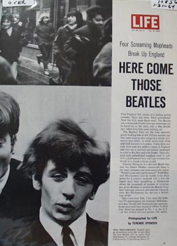 Here Come Those Beatles Article 1964