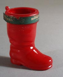 Plastic Boot, old candy container.