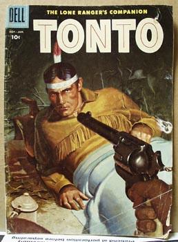 Tonto 1958 10 cent comic.No 29