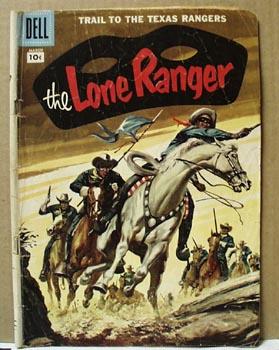 The Lone Ranger 1957 10 cent comic.Vol 1