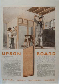 Upson Co  Upson Board Ad 1927
