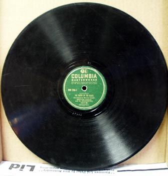 Columbia Record Birth of the blues