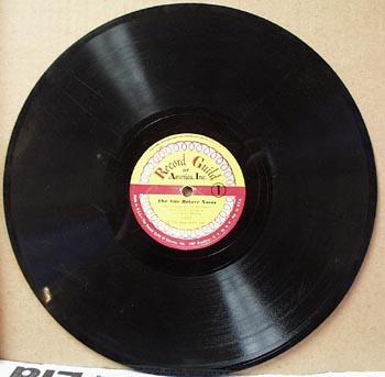 Record Guild 78 rpm The nite before Xmas