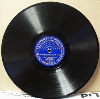 Montgomery Ward 78 rpm Charming Little Faker