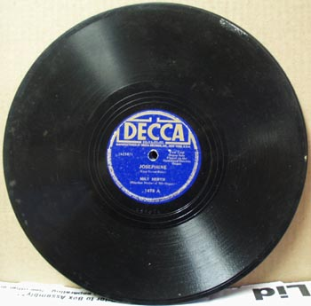 Decca Josephine by Milt Herth