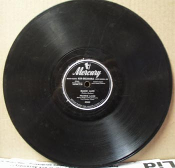 Mercury 78 rpm The cry of the wild goose by Frankie Laine