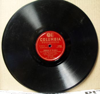 Columbia 78rpm Pass that peace pipe by Kay Kyser