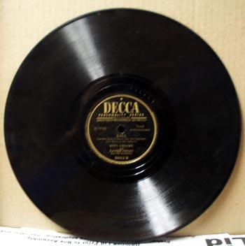 Decca 78 rpm You belong to my Heart by Bing Crosby
