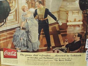Coca-Cola Jeanette MacDonald Ad 1934