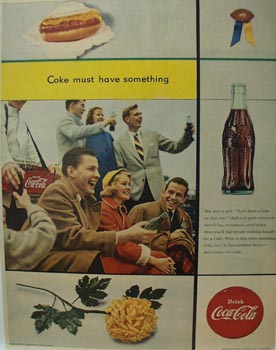 Coca-Cola Must Have Something Ad 1953