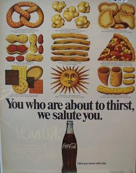 Coca-Cola We Salute You Ad 1969