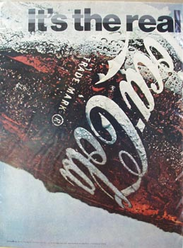 Coca-Cola Two Page Bottle Ad 1969