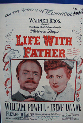 Life With Father in Technicolor ad., 10/1/47.