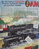 American Flyer Train Hello Boys & Dads Ad 1949