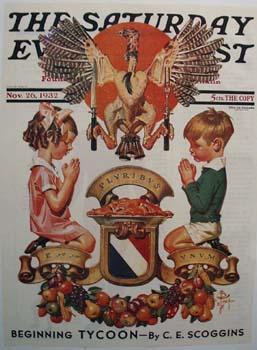 Saturday Evening Post Front Cover 1932