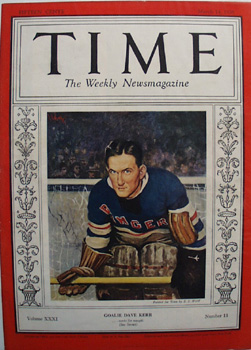 Time Magazine Front Cover 1938
