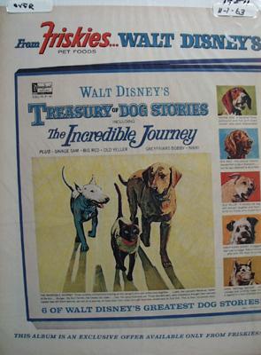 Friskies & Disney Incredible Journey Ad 1963
