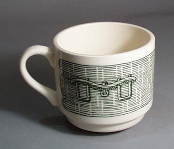 Scio Currier and Ives in green Cup