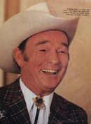 Roy Rogers Picture With Article 1980