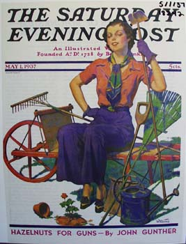 The Saturday Evening post May 1937 cover