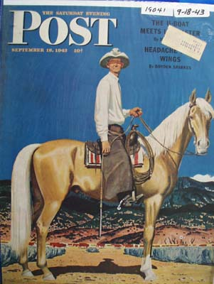 Saturday Evening Post Cover 1943