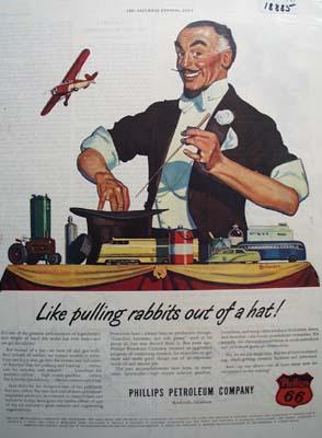 Phillips simply magic Ad 1946.