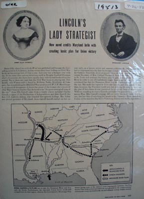 Lincolns lady strategist Ad 1948.
