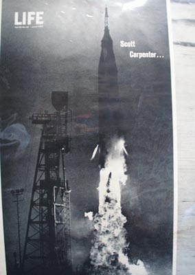 Scott Carpenter Blast Off 1962