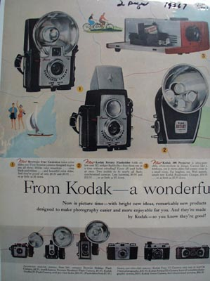 Kodak New World of Picture Taking Ad 1957