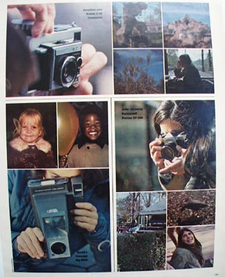 Kodak Two Pages of Pictures Ad 1972