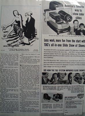 TDC Less Work More Fun Ad 1954