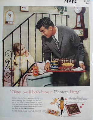 Planters Have a Planters Party Ad 1960