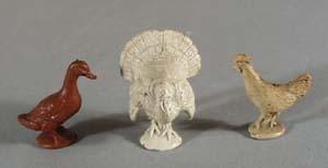 Auburn Rubber Turkey, chicken and duck toy.