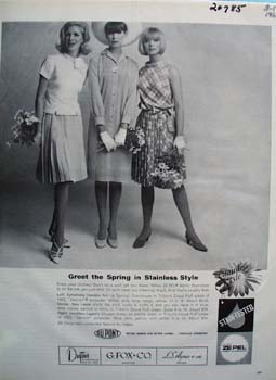 Ze Pel Fabric Flouridizer Ad 1965