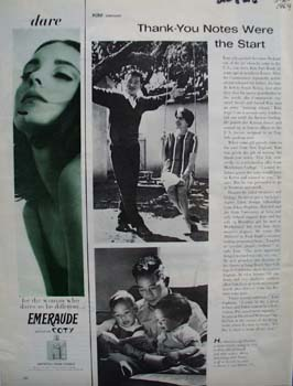 Coty Dare To Be Different Ad 1964