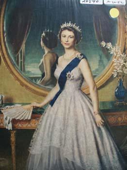 Queen Elizabeth Picture. 1952