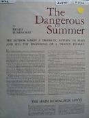 Ernest Hemingway Article 1960