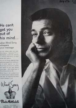 Wind Song Cant Get Out of Mind Ad 1959.