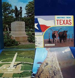 Greetings From Texas Postcards