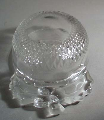 Holly and berry glass dish